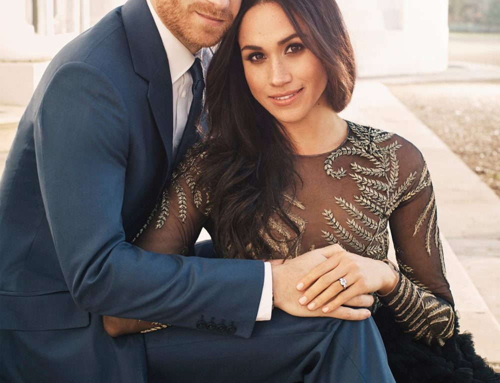 Prince Harry and Meghan Markle's Super Cute Engagement Photos