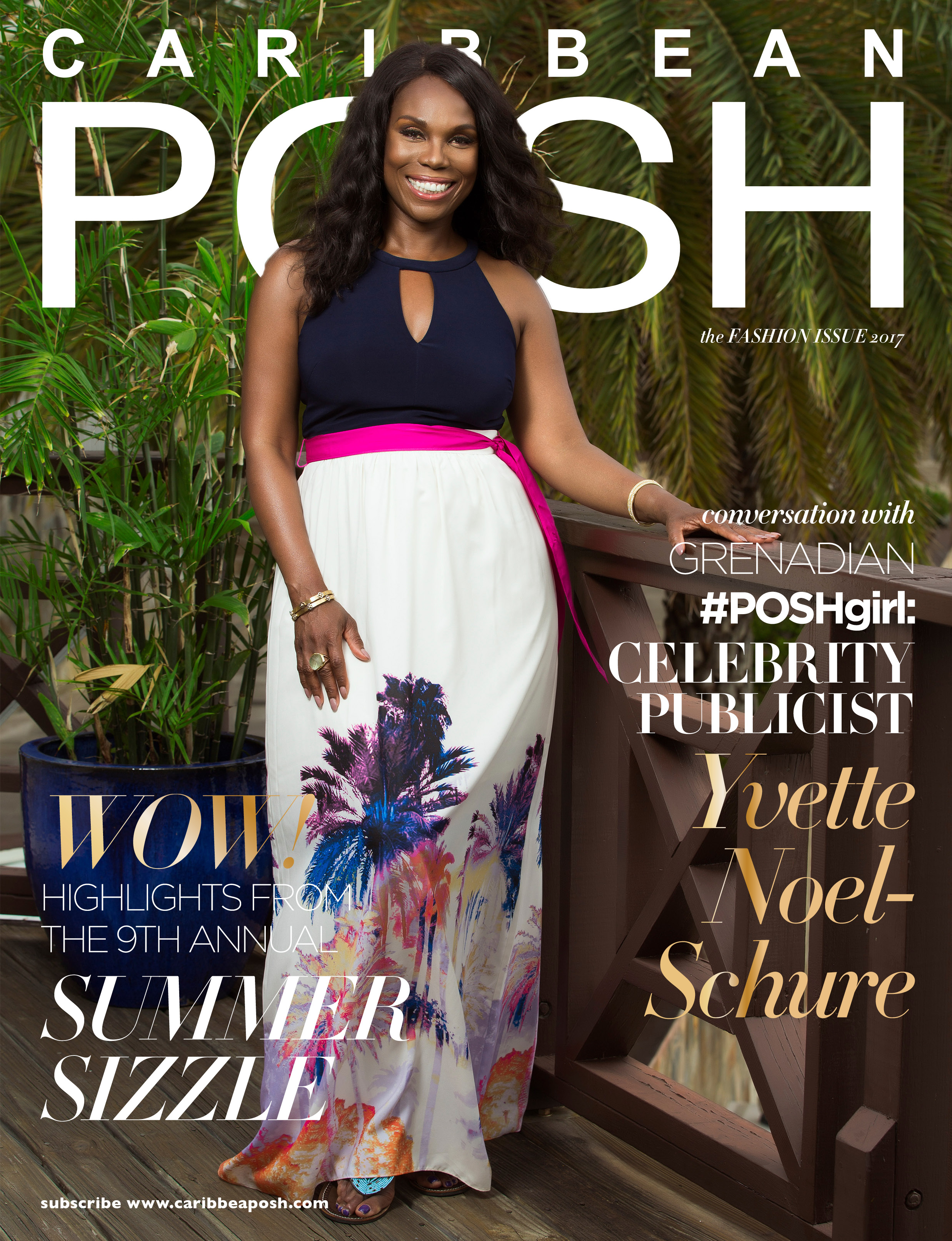 Caribbean POSH Fashion Issues - Yvette Noel-Schure Cover
