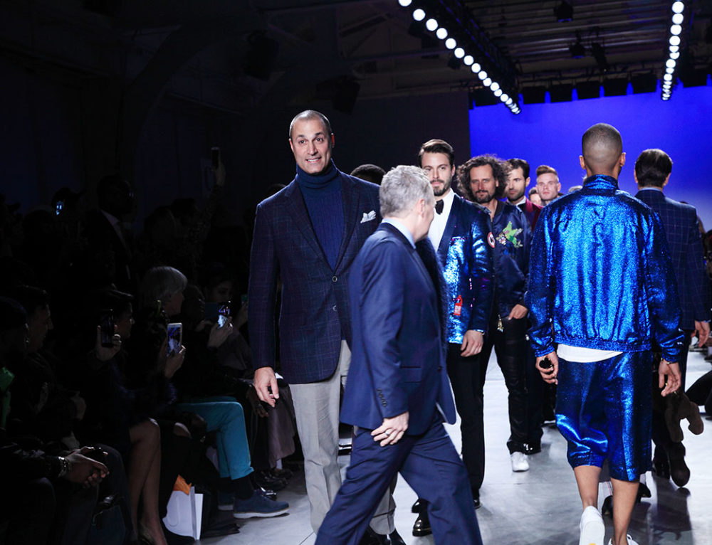 The Blue Jacket Fashion Show