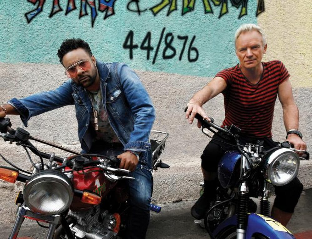 STING & SHAGGY'S NEW ISLAND-INSPIRED ALBUM, 44/876, AVAILABLE NOW FOR PRE-ORDER