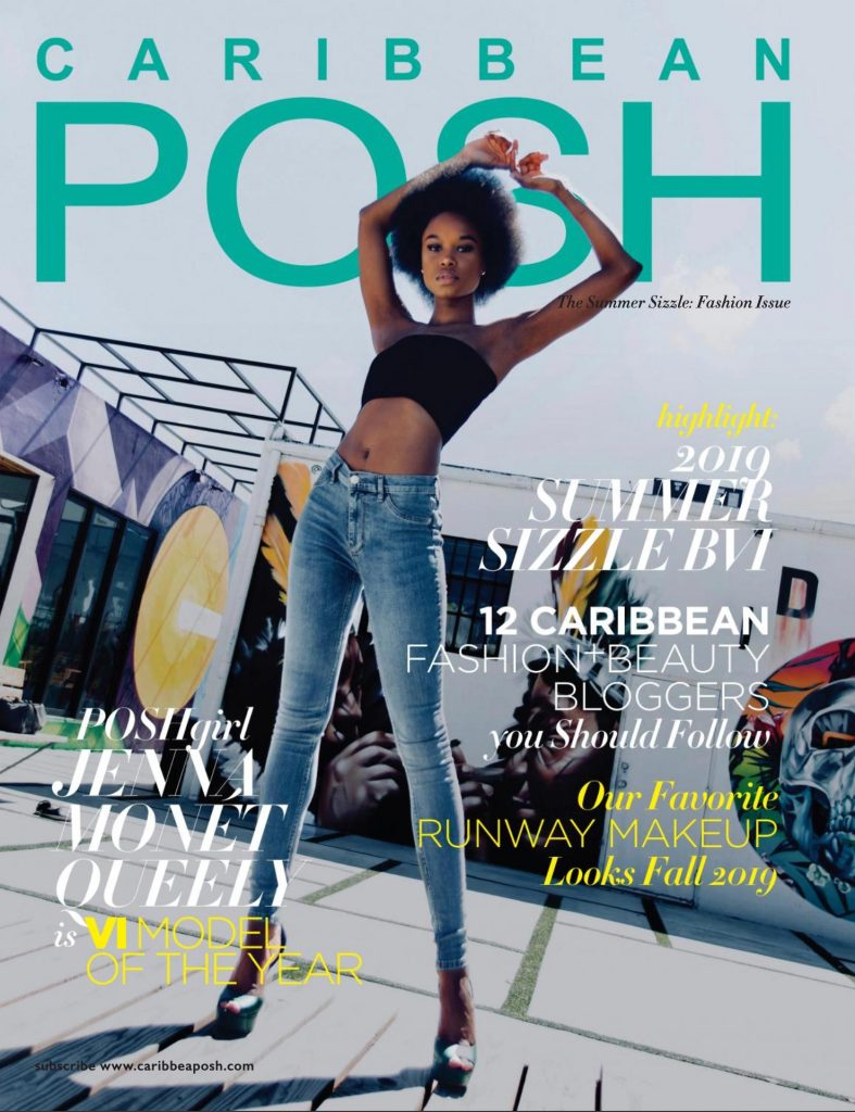 Caribbean POSH Summer Sizzle Fashion Issue - with POSHgirl Jenna-Monét Queeley