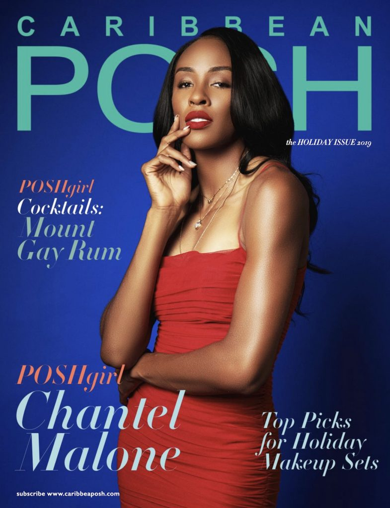 Caribbean POSH Holiday Issue - with POSHgirl Chantel Malone